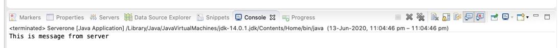 Serveroneremote Example 2