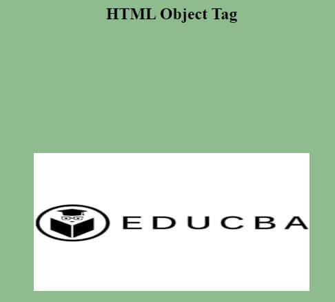HTML object Tag3