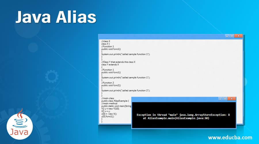 Java-Alias
