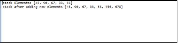 Java array.push - 3