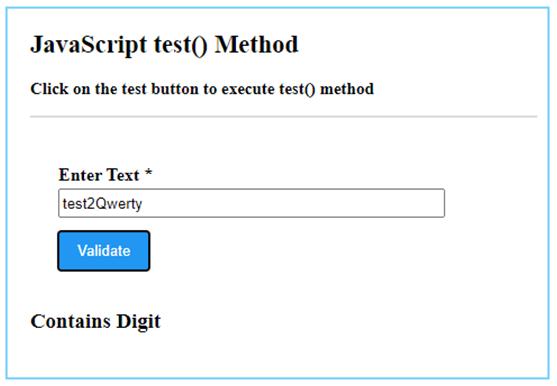 JavaScript test()-1.3.1
