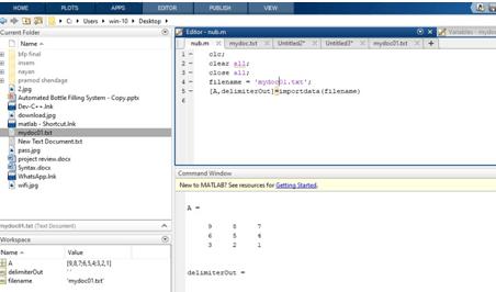 Return Detected Delimiter Method Example 3