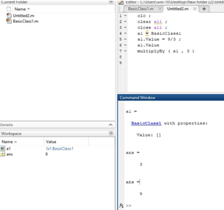 Matlab Object Example 2