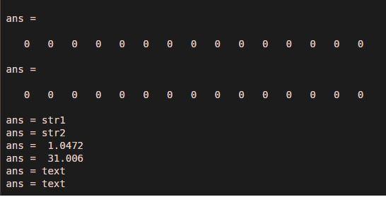 Matlab Variables18