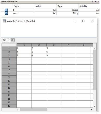 Matlab Variables4