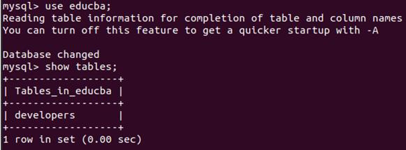 MySQL Backup Example 4