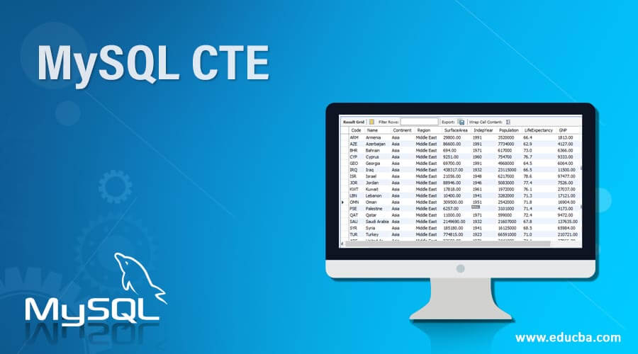 MySQL-CTE