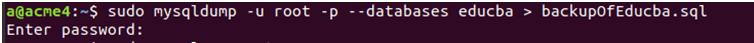 MySQL Dump-2.4