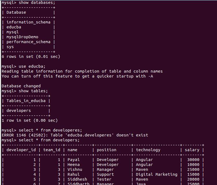MySQL Dump-3.4