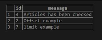 MySQL Offset-1.3