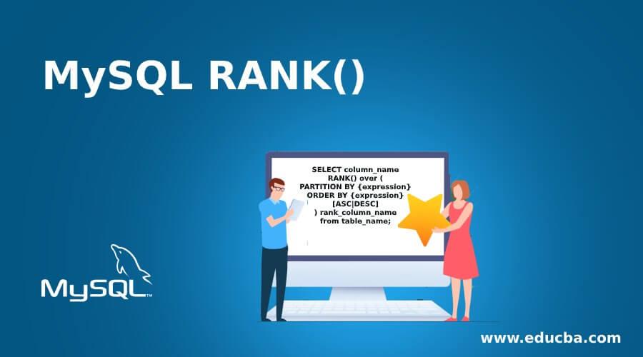 MySQL RANK()