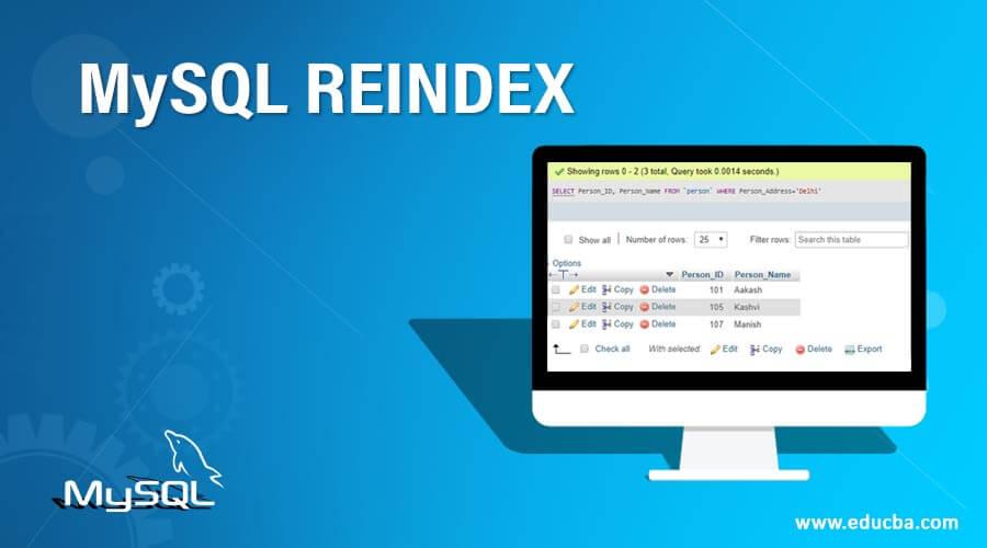 MySQL-REINDEX