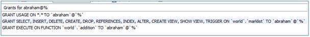 MySQL REVOKE Example 13