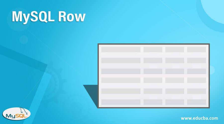 MySQL Row