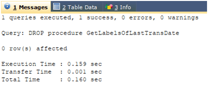 MySQL Stored Procedure Example 3