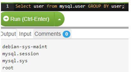 MySQL Users 8