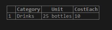 MySQL sum() - 5