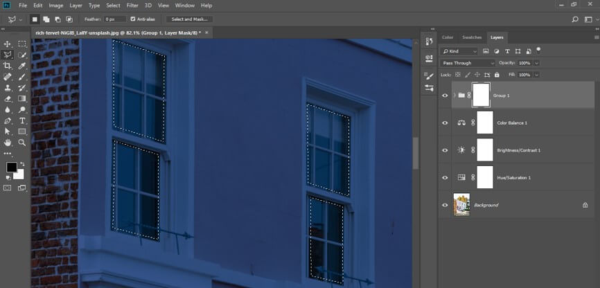 Night Effect in Photoshop - 21
