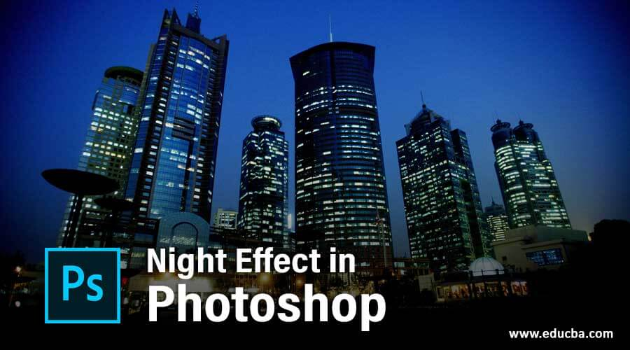 Night Effect in Photoshop