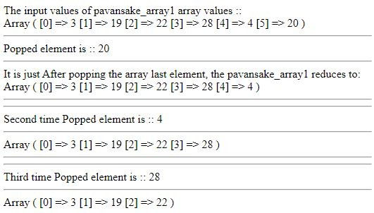 array() function