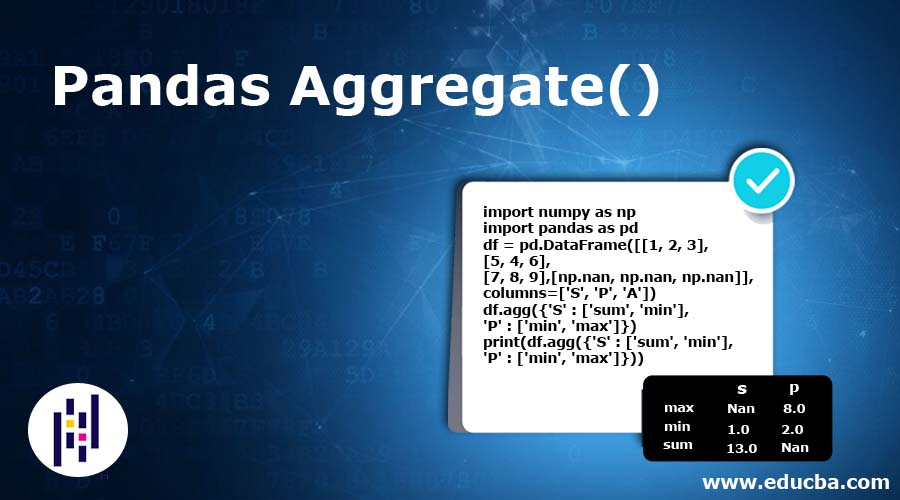 Pandas Aggregate() | How Pandas aggregate() Functions Work?