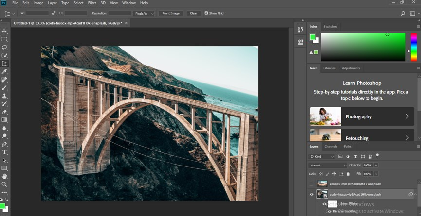 Perspective Correction in Photoshop - 17