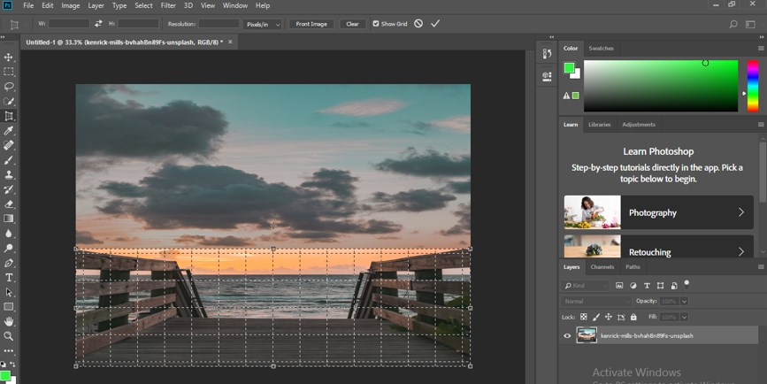 Perspective Correction in Photoshop - 19