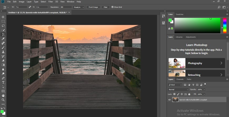 Perspective Correction in Photoshop - 20