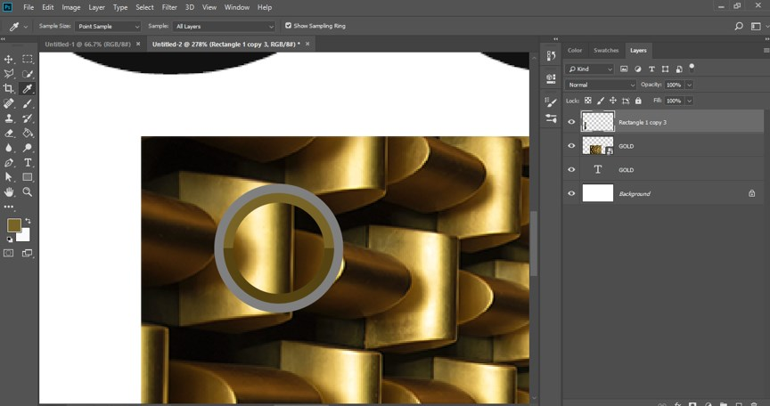 Photoshop Gold Gradient - 19