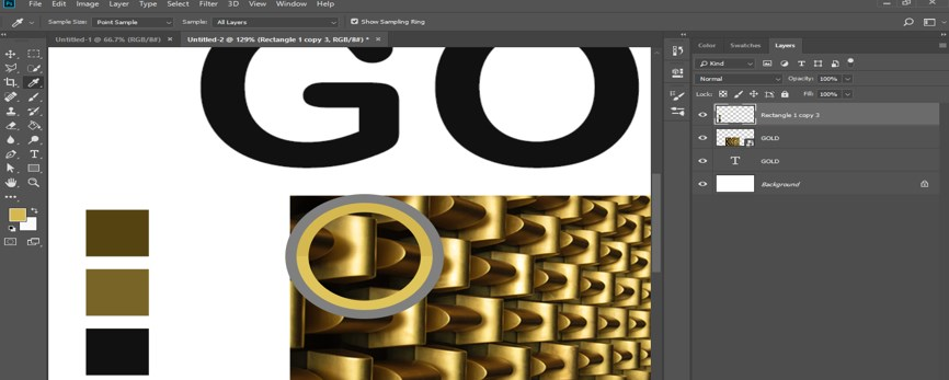 Photoshop Gold Gradient - 21
