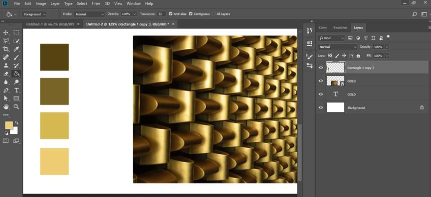 Photoshop Gold Gradient - 24