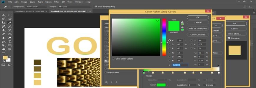 Photoshop Gold Gradient - 29
