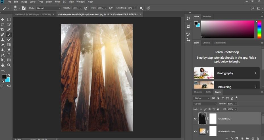 Photoshop Sun Effect - 24