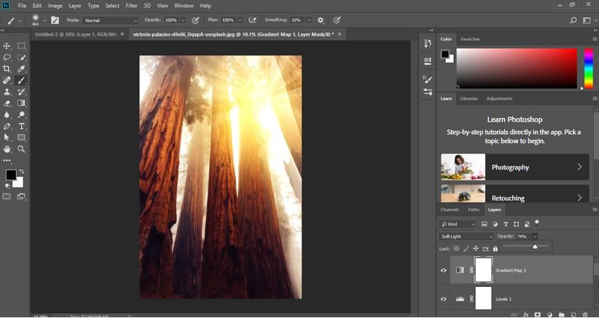 Photoshop Sun Effect - 30