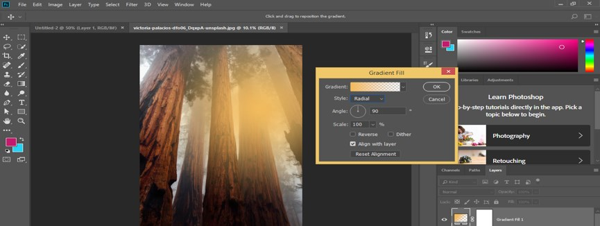 Photoshop Sun Effect - 8.1