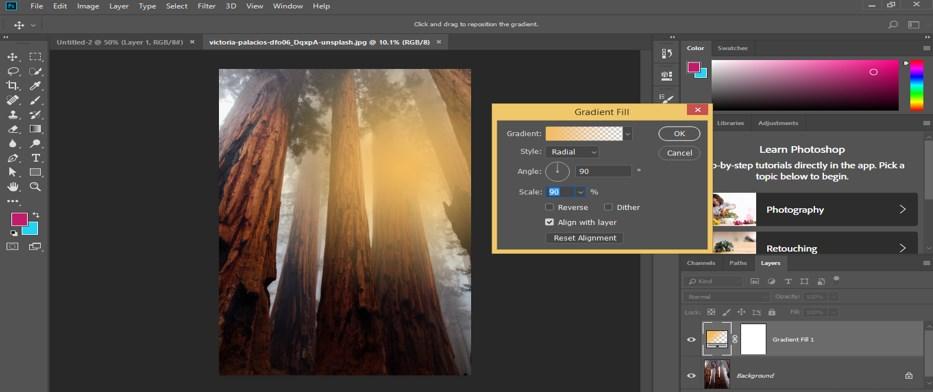 Photoshop Sun Effect - 9
