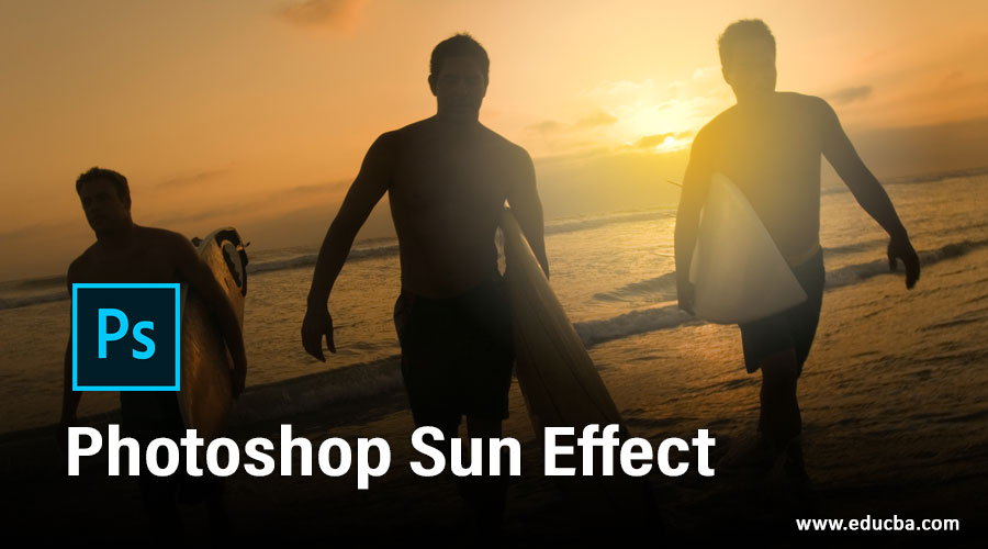 Photoshop Sun Effect