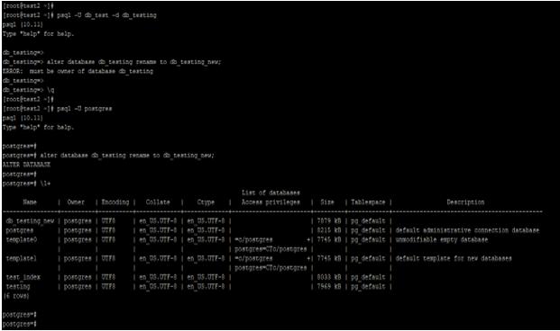 PostgreSQL ALTER DATABASE - 1