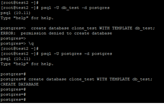 PostgreSQLClone Database Example