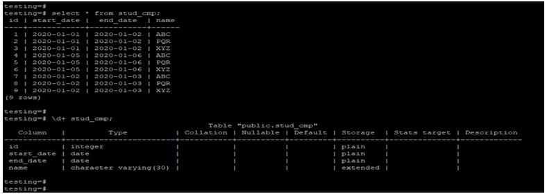 PostgreSQLCompare Date-1.1