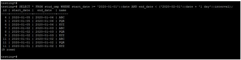 PostgreSQLCompare Date-1.3