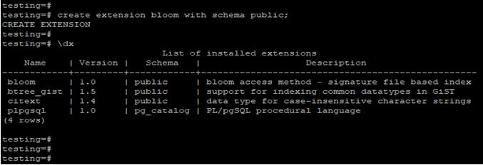 PostgreSQL Extensions-1.3