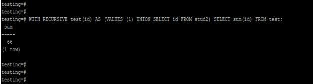 PostgreSQL WITH Clause - 5