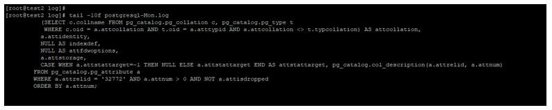 PostgreSQL log_statement 4