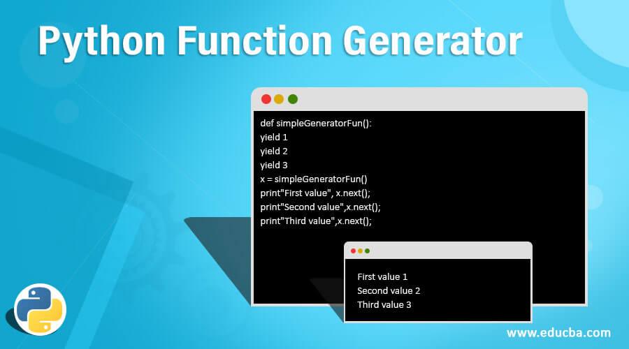 Python Function Generator