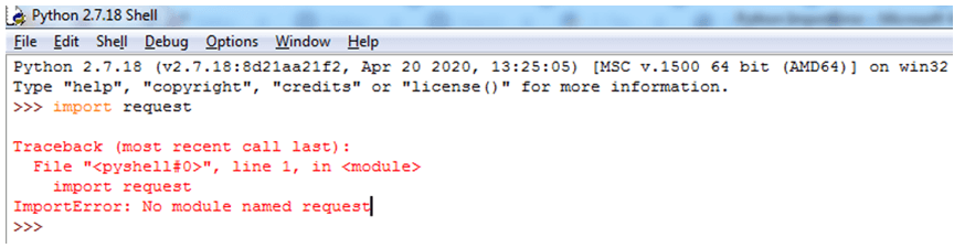 Python ImportError-1.1