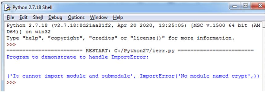 Python ImportError-1.3