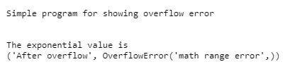 range as overflow