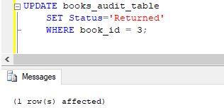 SQL AFTER UPDATE Trigger13