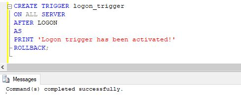 dummy trigger